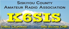 SISKIYOU COUNTY AMATEUR RADIO ASSOCIATION